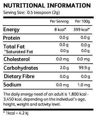 nutritional labels-SISLite