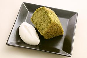 Matcha Chiffon cake300x200